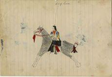 Rodolphe Petter Cheyenne Ledger: 1 - Chief Horse