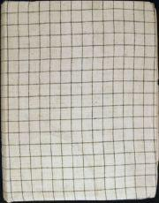 Walter Bone Shirt Ledger - Mansfield Library: 1 - Front Cover