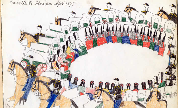 Plains Indian Ledger Art
